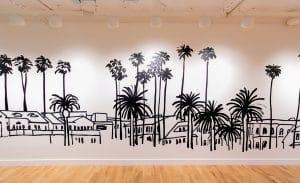 WeWork Redstone Palm Tree Artwork