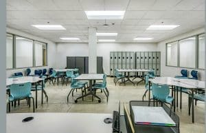 Portview Prep Classroom