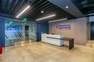 Lobby at RAM's Financial Partners Credit Union Project