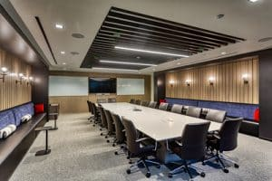 Conference Room at RAM's Financial Partners Credit Union Project