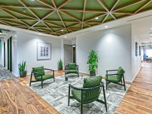 RAM Construction's Landmark Health Lounge