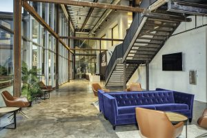 Lobby at Syspro, RAM's project