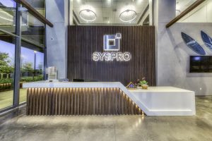 Front Desk at Syspro, RAM's project